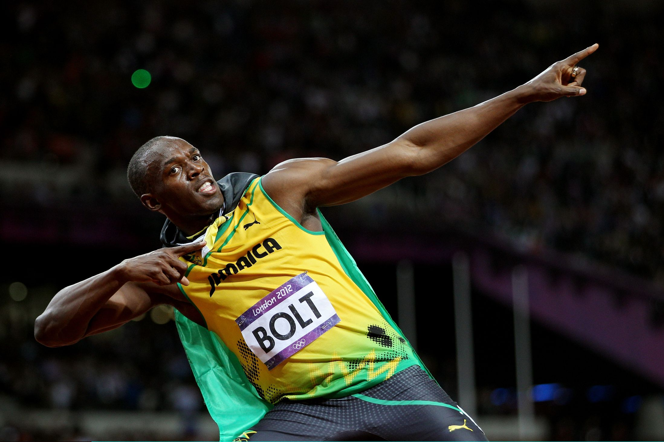 Usain Bolt on empty Tokyo Olympics stadium: 'I'm happy I don't have to do it', MORE ON USAIN, Usain Bolt: 'I would have run under 9.5 seconds with super spikes'