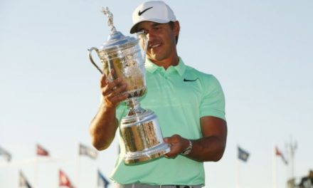 Brooks Koepka Matches Tournament Record In Winning US Open