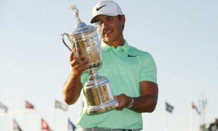 Brooks Koepka Matches Tournament Record In Winning US Open
