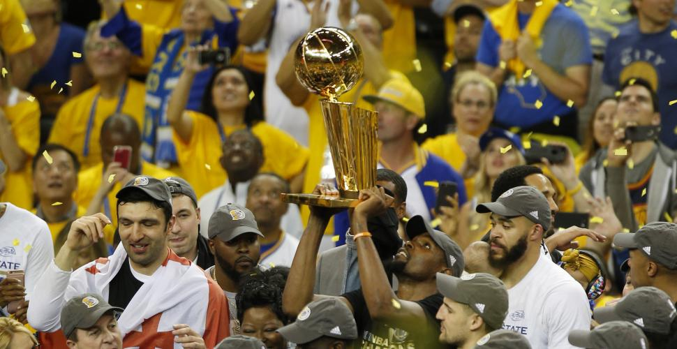 The Golden State Warriors Are The 2017 NBA Champions, The Splash Brothers Are As  Powerful As Ever, Draymond Green Is Simply Great, 'THE BENCH HANDLES IT'S BUSINESS, And Kevin Durant Wins The MVP Trophy For The Finals Series.