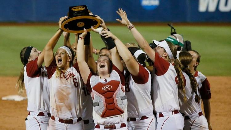 Oklahoma Repeats As NCAA Women's Softball Champs