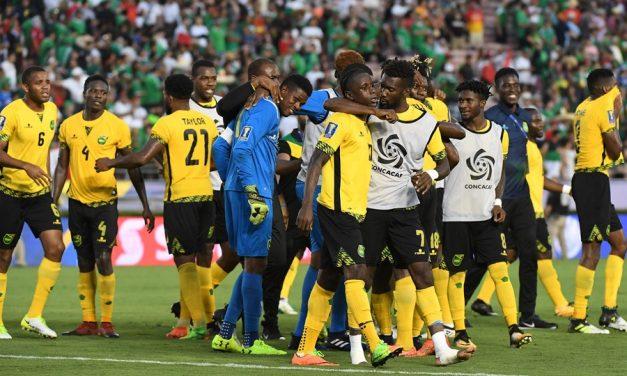 """Jamaica,  """"The Reggae Boyz"""", Stun Mexico, Set Up USA Final, Mexico 0-1 Jamaica (CONCACAF Gold Cup 2017)"""