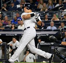 Major League Baseball Home Run Leader Aaron Judge Was Crowned This year's T-Mobile Home Run Derby Champion On Monday Night At Marlins Park In Miami.