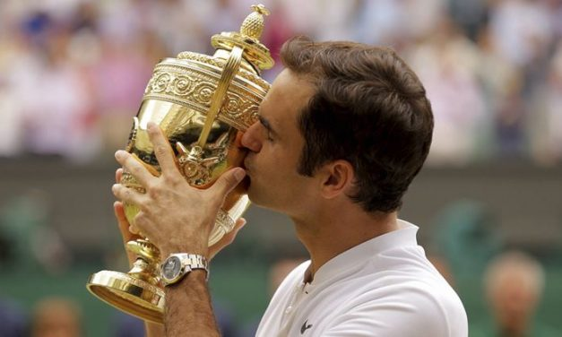 Roger Federer Claims Historic Eighth Wimbledon Title With Straight Sets Win Over Emotional Marin Cilic