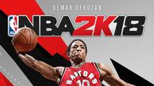 DeMar DeRozan,  Lands First-Ever NBA 2K18 Canadian Cover