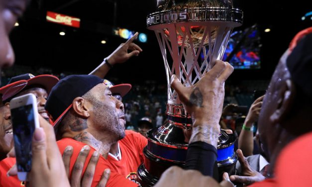Former NBA players Al Harrington, Kenyon Martin Win The Inaugural Title, BIG3 Championship, The star-studded summer 3-on-3 league came to a close with Trilogy taking home the Inaugural Crown and Championship Trophy.