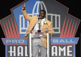 LADAINIAN TRAMAYNE TOMLINSON, 2017 NATIONAL FOOTBALL LEAGUE'S INDUCTEE INTO THE HALL OF FAME