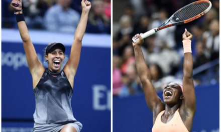 "VYING TO BE THE FUTURE GOAT OF AMERICAN TENNIS, THE FUTURE STARS, ""SLOANE STEPHENS"" AND ""MADISON KEYS"",  FACE OFF FOR THE FIRST ALL-AMERICAN U.S. OPEN FINAL SINCE 2002"