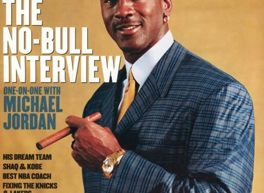 """WAY BACK IN THE SMOKE"", Cigar Aficionado : A Revisit Of The One-on-One With Michael Jordan, THE CIGAR INTERVIEW PART 1, 2005….."