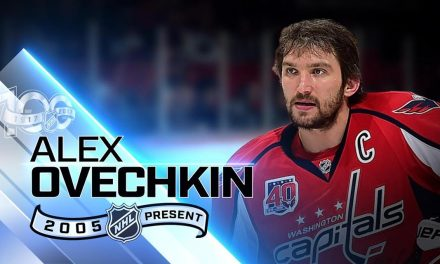 """THE JORDAN BRAND NHL STAR, """"Alex Ovechkin"""", Known Best For Scoring Goals, Is On The Cusp Of 500 Career Assists"""