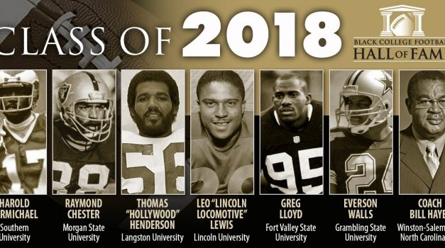BLACK COLLEGE FOOTBALL HALL OF FAME CLASS OF 2018 UNVEILED
