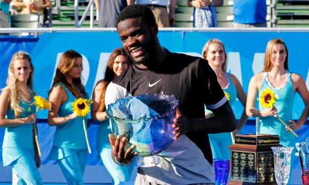 The Powerful 20-year-old Sensation , Frances Tiafoe Claimed His First ATP World Tour Title At Delray Beach, Marking What Could Be A Long-Awaited Breakthrough For American Men's Tennis.