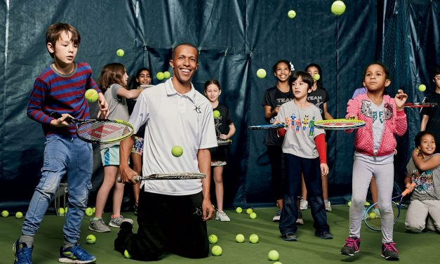 Kamau Murray, Executive Director, XS Tennis and Education Foundation, Coached Sloane Stephens To A US Open title, And Mr. Kamau Murray Is Creating Global Pipeline Of  Tennis Talent, From All Walks Of Life.