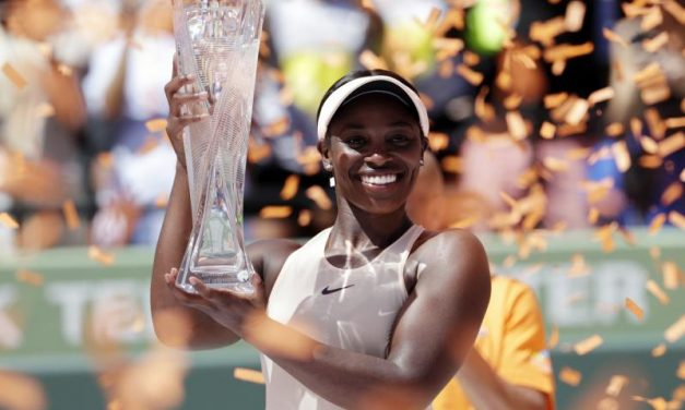 "2017 US OPEN CHAMPION, ""Sloane (MS. DIESEL) Stephens"", Triumphs Over Jelena Ostapenko  In Straight Sets, To Win The Miami Open Crown"