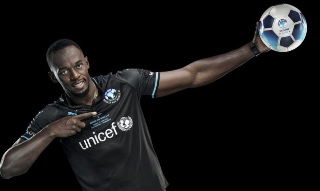Usain Bolt 'Signs' For Socceraid Charity Match, Usain Bolt To Play First Official Match As A Footballer At Old Trafford
