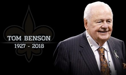 """The New Orleans Pelicans NBA Franchise Owner, Who Was Also The New Orleans Saints NFL Franchise Owner And Super Bowl XLIV Winner,  Thomas """"Tom"""" Milton Benson"""", Passes Away At 90yrs Of Age"""