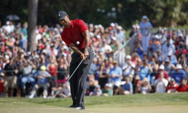 "TIGER WOODS FINISHES 2ND AT THE VALSPAR CHAMPIONSHIP, BUT WITH THE TIGER WOODS ""BIG CAT EFFECT"", THE WORLD OF GOLF WINS, THE PGA TOUR WINS, NBC WINS, AND THE GOLF CHANNEL'S TWO-HOUR WINDOW OF BROADCASTING AND STREAMING WINS, WITH THE HIGHEST RATINGS IN 5YRS, THE LAST TIME TIGER WOODS WON THE PLAYERS CHAMPIONSHIP IN 2013"
