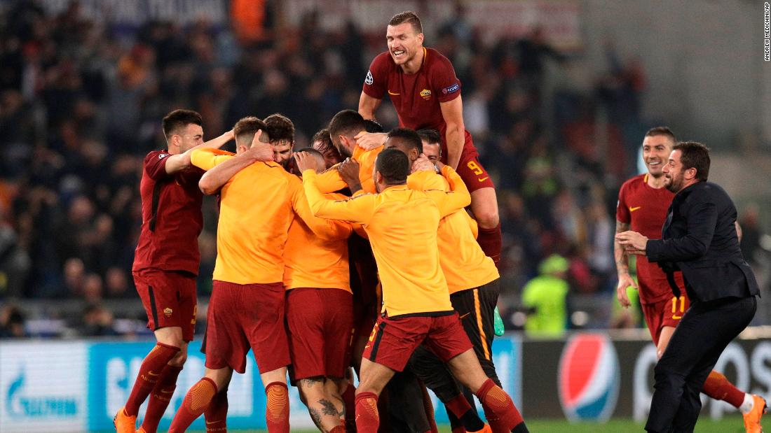 Champions League: Roma Gets Its 'Miracle' and Ousts Barcelona, Roma Knocks Barcelona Out Of CL with remarkable comeback