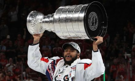 Devante Smith-Pelly, Washington Capitals Defy Expectations By Winning The 2018 Stanley Cup, Their First Stanley Cup Championship In Franchise History