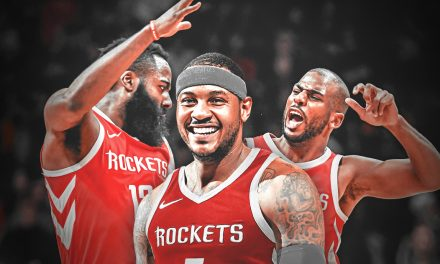 """THIS IS ONLY ANOTHER CHAPTER IN MY BOOK OF LIFE, MY STORY IS FAR FROM OVER, """"CARMELO ANTHONY"""", ONE OF THE GREATEST PLAYERS AND PURE SCORERS IN THE HISTORY OF THE NBA"""