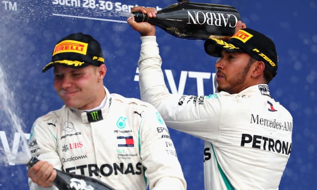 Lewis Hamilton increases championship lead to 50 points with Russian Grand Prix win: live race reaction