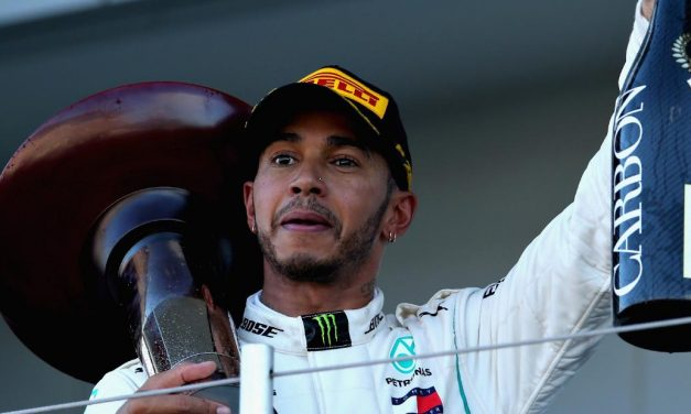 Lewis Hamilton Wins Japanese GP & Closes On Fifth World Title
