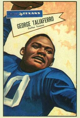 George Taliaferro, A Great Man, A Great Human Being, The First African-American Selected in NFL Draft. Dies at 91
