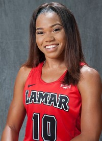 Lamar University Womens Basketball Team Starting point guard, Chastadie Barrs, named to national Nancy Lieberman Award watch list