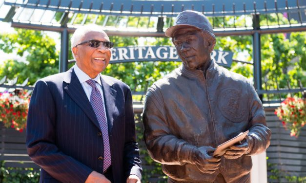 Frank Robinson, Baseball Hall of Famer, One Of The Greatest Baseball Players Of All-Time, And The Only MLB Legend to have statues with three different MLB CLUBS, in three different cities