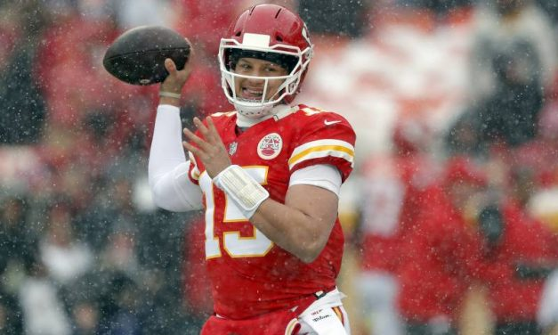 Patrick Mahomes, The Top Quarterback In The NFL, The Top NFL Quarterback Of The 2018 Football Season, Guides The Chiefs To The AFC Championship Game, After A Dominant Win vs. Colts