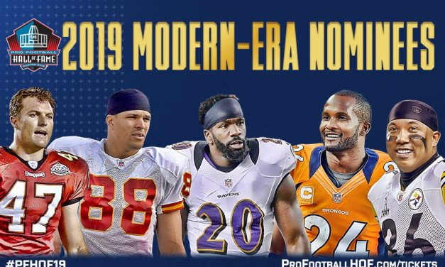 Pro Football Hall of Fame Class of 2019 announced: Ed Reed, Tony Gonzalez, headline the 2019 class