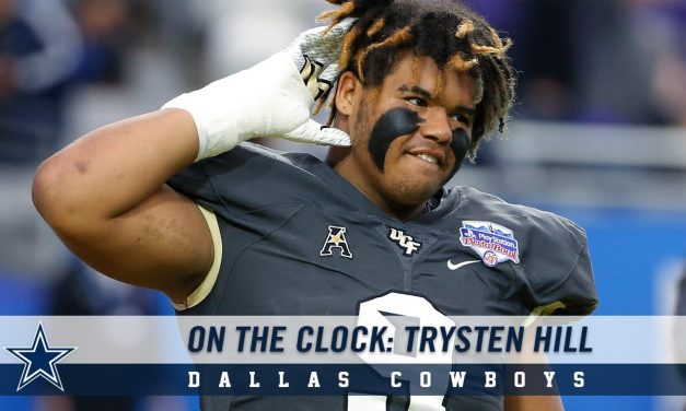 """With A Year-To-Date NFL League Championships (5), NFL Super Bowl championships (5), Conference championships (10), Division championships (24), The Jerry Jone's NFL Dallas Cowboys, """"AMERICA'S TEAM"""", Make CENTRAL FLORIDA'S, """"DEFENSIVE TACKLE"""", Trysten Hill Their NO.1 Draft Pick Of The 2019 Draft"""