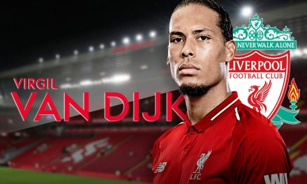 Liverpool's Van Dijk wins England's PFA Player of the Year award