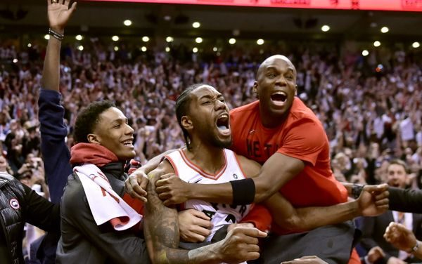 Kawhi Leonard shoots the historic fadeaway game-winner that propels The Toronto Raptors to Eastern Conference Finals, AND THE PORTLAND TRAILBLAZERS ARE ON THIER WAY TO THE WESTERN CONFERENCE FINALS