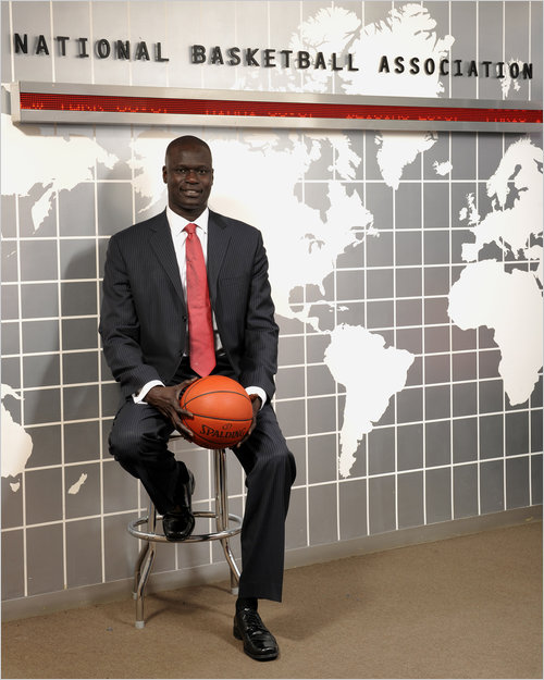 The NBA names Amadou Gallo Fall President of The Basketball Africa League