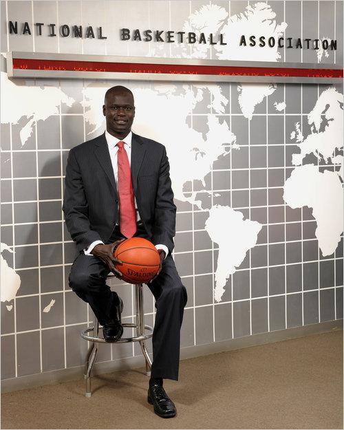The NBA names Amadou Gallo Fall President of The Basketball Africa League