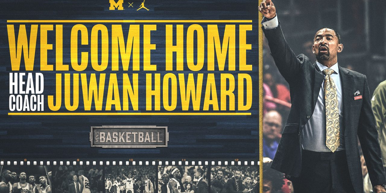 The University Of Michigan Hires Former 2x NBA CHAMPION, ALL NBA POWER FORWARD, NBA ALL STAR, Juwan Howard as Their New Head Basketball Coach
