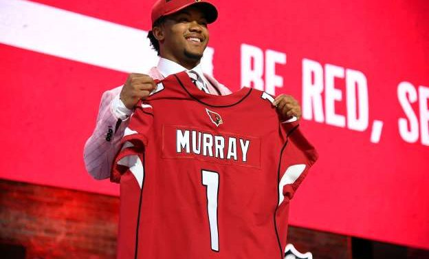 Kyler Murray, No. 1 overall pick, 2019 Heisman Trophy Winner, signs a four-year contract with Cardinals, deal is worth about $35 million