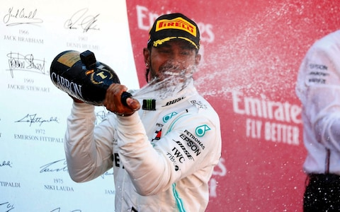 Lewis Hamilton wins Spanish Grand Prix in fifth straight Mercedes one-two finish