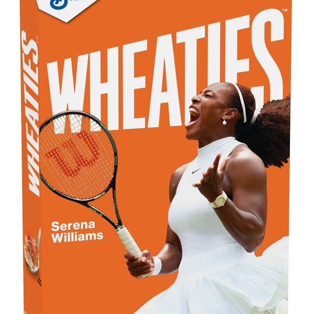 Wheaties Scores an Ace with Serena Williams Wheaties Box