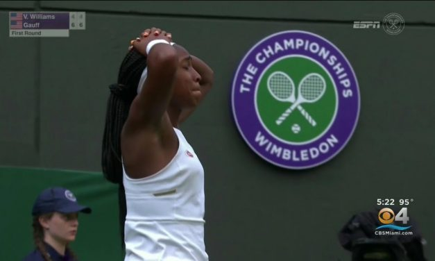 Cori 'Coco' Gauff Continues Sensational Wimbledon DOMINANCE AT 15YRS OF AGE, AND HER 'Proud' FATHER Corey Gauff hopes Coco will rise to the challenge of Simona Halep, BUT LOVES HER FOR ALL THAT SHE'S ACCOMPLISHED