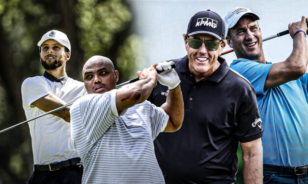 Phil Mickelson and Charles Barkley's win at The Match