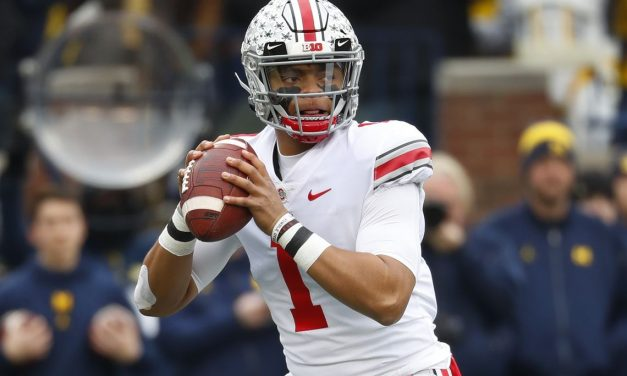 Ohio State QB Justin Fields Dominates Rutgers in blowout win, and  Justin Fields' odds to win Heisman get a boost