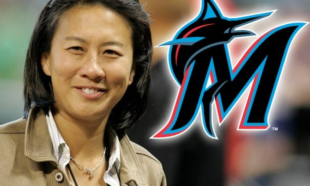 CEO DEREK JETER OF THE Miami Marlins hire Kim Ng as MLB's first female general manager