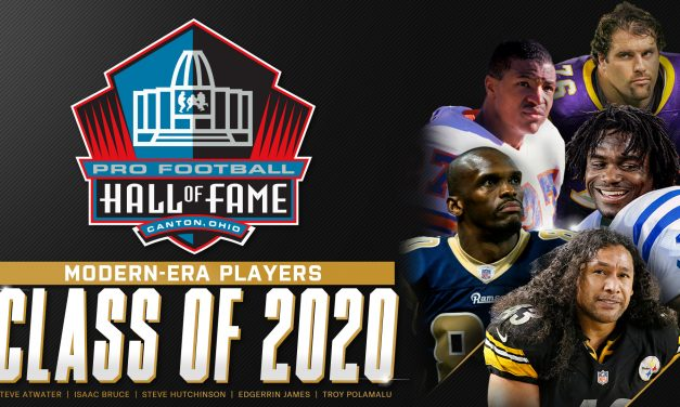 Pro Football Hall of Fame 2020 inductees: Troy Polamalu, Isaac Bruce, Edgerrin James among players to get in