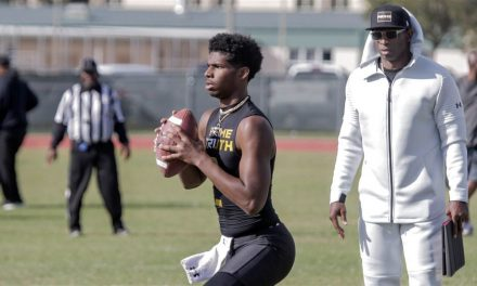 Shedeur Sanders, Son Of Deion, Commits To Jackson State University