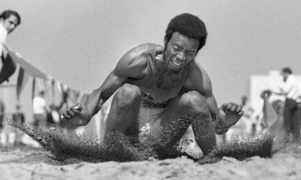 San Diego's gold medal long jumper Arnie Robinson Jr. dies from COVID-19