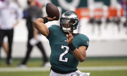 Rookie QB Jalen Hurts Shines In First Career Start As he leads the Eagles, and they Defeats the first place New Orleans Saints 24-21