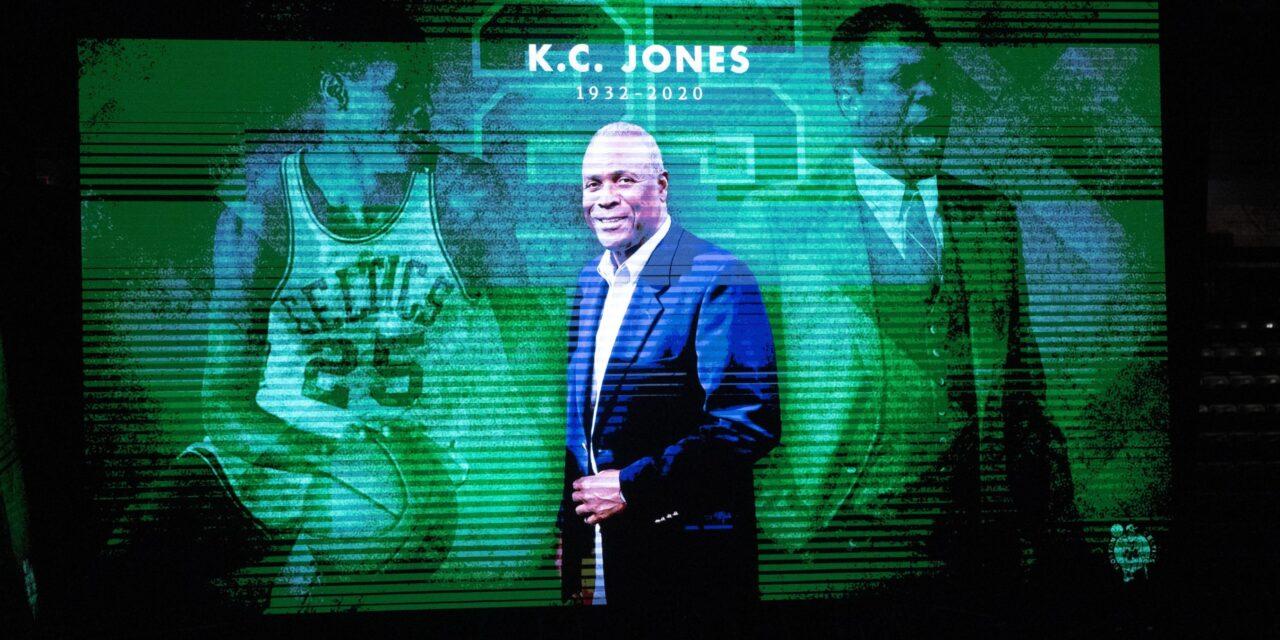 NBA HALL OF FAMER, Legendary Boston Celtics player, coach K.C. Jones dies at 88