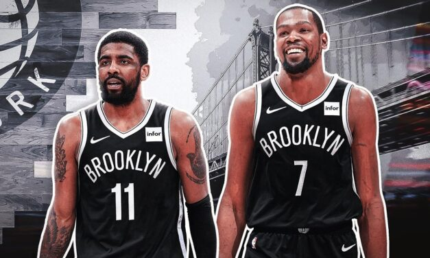 Kevin Durant looks incredible, Kyrie makes a statement in season opener, as new york Nets destroy golden state Warriors